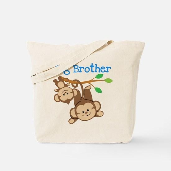 Monkeys Big Bro w. Little Sis Tote Bag