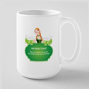 AN IRISH TOAST Large Mug