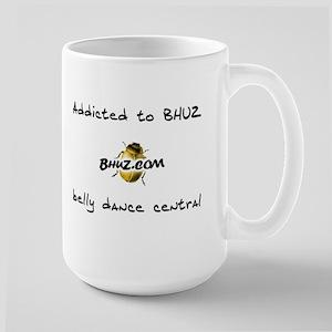 Addicted to BHUZ large mug