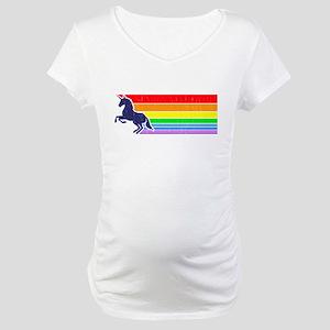 '80s Vintage Unicorn Rainbow (distressed look) Mat
