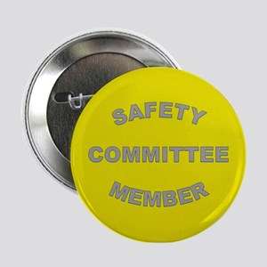 """High Visibility Yellow Safety Committ 2.25"""" Button"""