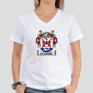 O'Neill Coat of Arms Women's V-Neck T-Shirt