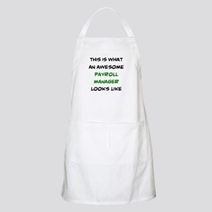 awesome payroll manager Light Apron
