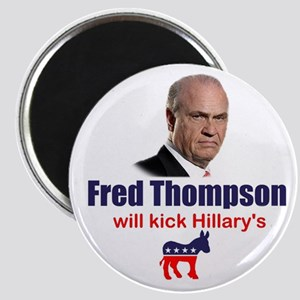 Fred Thompson Vs. Hillary Cli Magnet