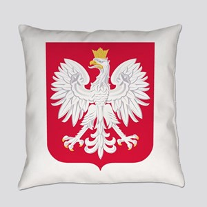 Poland Coat of Arms Everyday Pillow