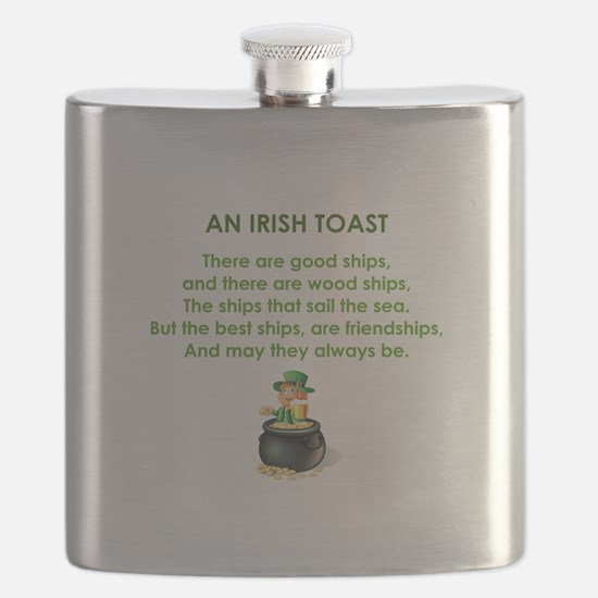 AN IRISH TOAST Flask