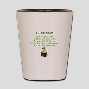 AN IRISH TOAST Shot Glass