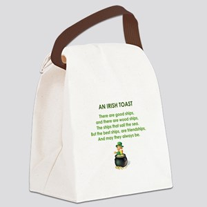 AN IRISH TOAST Canvas Lunch Bag