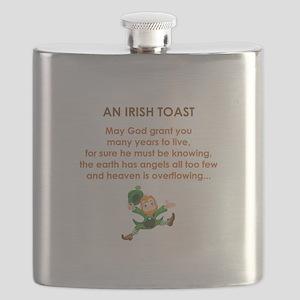 AN IRISH TOAST Flask