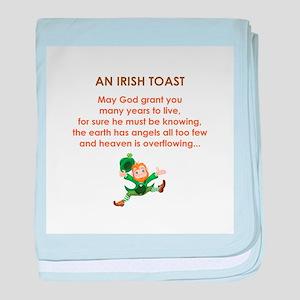 AN IRISH TOAST baby blanket