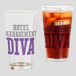 Hotel Management DIVA Drinking Glass