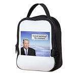 Al Gore's Global Warming Lie Neoprene Lunch Bag