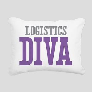 Logistics DIVA Rectangular Canvas Pillow