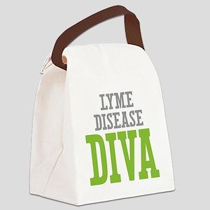 Lyme Disease DIVA Canvas Lunch Bag
