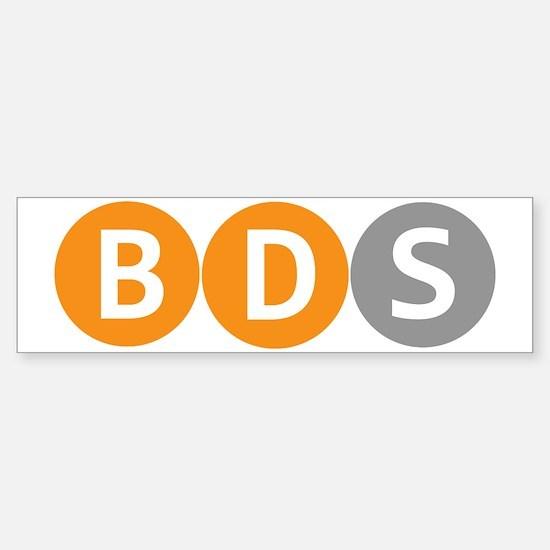 BDS Bumper Bumper Bumper Sticker