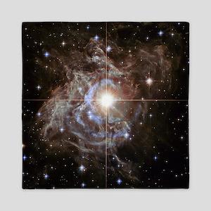 Bright Star in Universe Queen Duvet