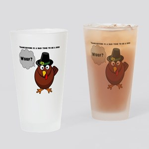 Bad to Be a Bird Drinking Glass