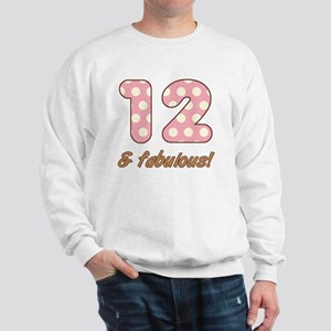 12th Birthday Dots Sweatshirt