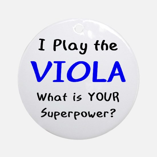 play viola Ornament (Round)