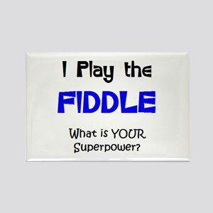 play fiddle Rectangle Magnet