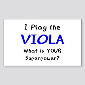 play viola Sticker (Rectangle)