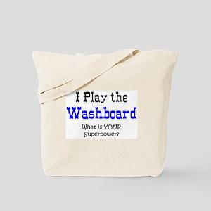 play washboard Tote Bag