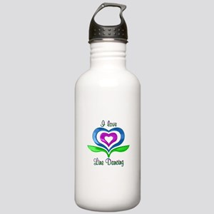 I Love Line Dancing He Stainless Water Bottle 1.0L