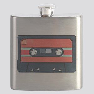 Red Cassette Flask