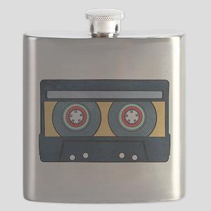 Orange Cassette Flask
