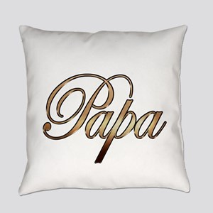 Gold Papa Everyday Pillow