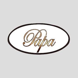 Gold Papa Patch
