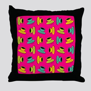 SCATTERED CUPS Throw Pillow