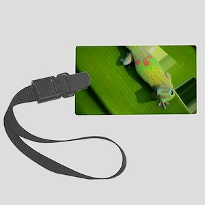Rainbow Geckoe Large Luggage Tag