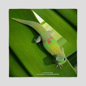 Rainbow Geckoe Queen Duvet