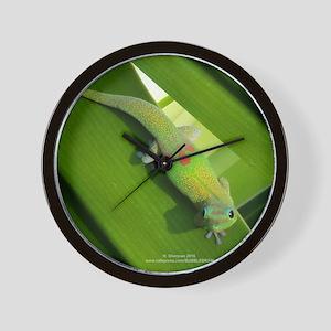 Rainbow Geckoe Wall Clock