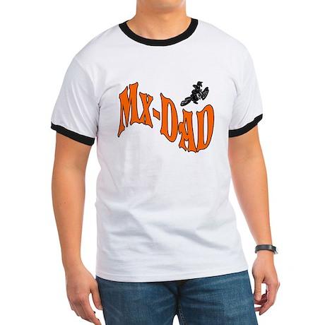Mx-Dad Logo Ringer T