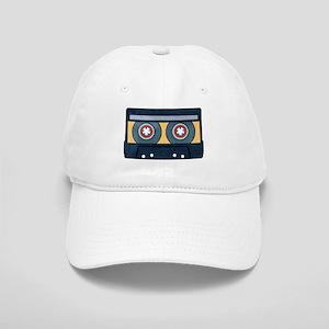 Orange Cassette Hat