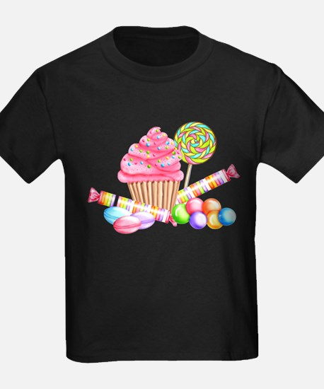 Cute 1st birthday cupcake T