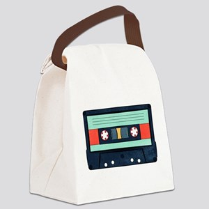 Indigo Cassette Canvas Lunch Bag