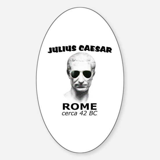 CAESAR, LENNON STYLE Sticker (Oval)