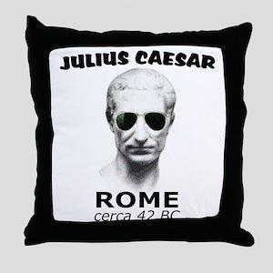 CAESAR, LENNON STYLE Throw Pillow