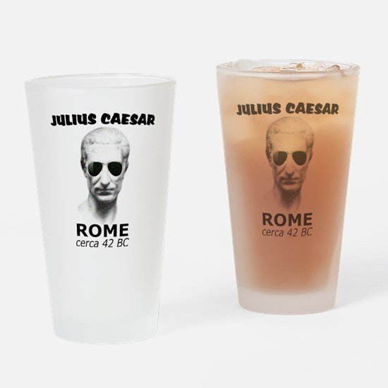CAESAR, LENNON STYLE Drinking Glass