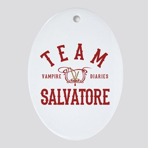 TVD The Vampire Diaries Oval Ornament