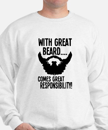 Beared Sweatshirt
