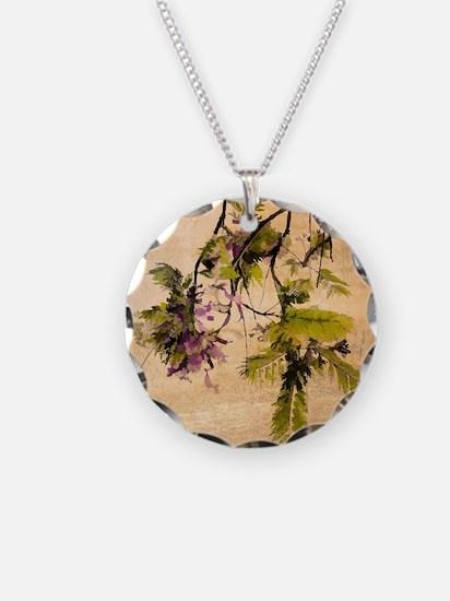 Gentle Jacaranda Necklace