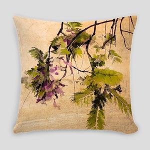 Gentle Jacaranda Everyday Pillow