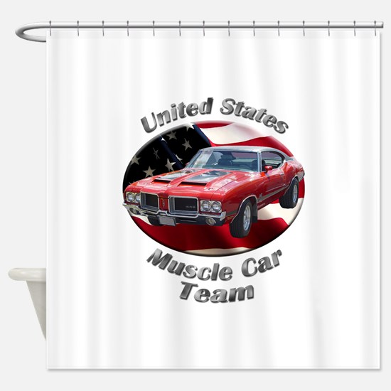 Olds 4-4-2 Shower Curtain