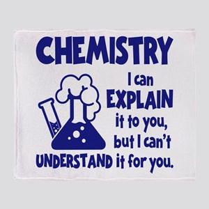 CHEMISTRY Throw Blanket