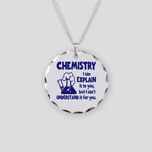CHEMISTRY Necklace Circle Charm