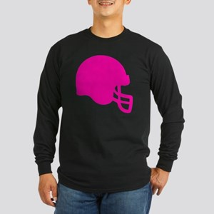 HELMET PINK Long Sleeve Dark T-Shirt